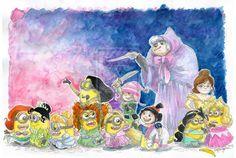 If Minions are Disney Princesses