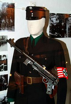 FYI this is what the Arrow Cross uniform looked like.