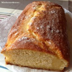 Cake de Limón con Thermomix Bread Machine Recipes, Bread Recipes, Cake Recipes, Dessert Recipes, Food N, Good Food, Food And Drink, My Recipes, Sweet Recipes