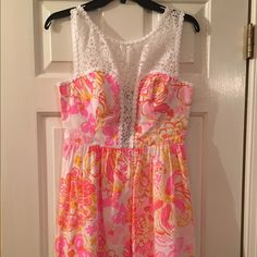 Size 2 Lilly Pulitzer dress Beautiful, perfect for summer Lilly Pulitzer Dresses