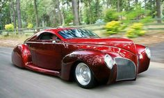 Lincoln 1939 Zephyr