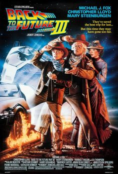 Back to the Future Part III Movie Poster