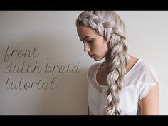 Front dutch braid tutorial   Kokay   A DIY Style and Beauty Blog