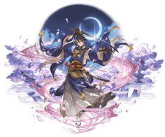File:Mikazuki Munechika B. Game Character Design, Character Art, Fantasy Kunst, Fantasy Art, Touken Ranbu Mikazuki, Manga Anime, Anime Art, Touken Ranbu Characters, L5r