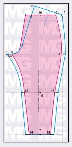 tabla de medidas de pantalon de dama - Buscar con Google