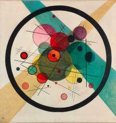 Wassily Kandinsky - Circles in a Circle, 1923