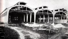 Depósito de Locomotivas de Curitiba construído entre os anos de 1943 e 1947
