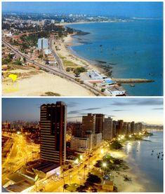 Fortaleza, Brazil (The vs. Dubai, Nairobi, Machu Picchu, Beijing, World Cities, Cool Photos, Amazing Photos, Brazil, New York Skyline