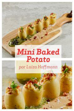 Super fácil e prática, essa receita de Mini Baked Potato com Presunto de Parma e Catupiry é o aperitivo perfeito para um jantarzinho ou encontro com os amigos.