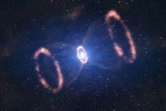Supernova | supernova.   A gigantic hourglass.  How much time do you have ?