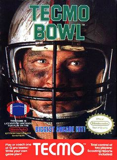 Tecmo bowl pictures | top nes games