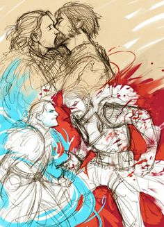 Justice and blood mage hawke http://king-maric-theirin.tumblr.com/archive