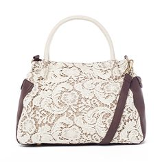 I love the Nila Anthony Lace Tote from LittleBlackBag http://lbb.ag/b32a