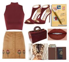 """""""casual n cuba"""" by kaykaydabosss ❤ liked on Polyvore featuring Vera Bradley, Dorothy Perkins, WearAll, Jimmy Choo, Royce Leather and Cartier"""