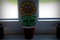 Plants Vs. Zombies Sonnenblume aus Bügelperlen