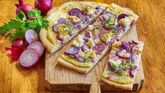 Flammkuchen+Rezept+»+Knorr