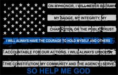 Thin blue line decal - Tattered Flag with Credo Decal, Numerous Sizes Reflective Thin Blue Line Wallpaper, Thin Blue Line Decal, Thin Blue Line Flag, Lines Wallpaper, Thin Blue Lines, Blue Flag, Law Enforcement Quotes, Support Law Enforcement, Police Quotes