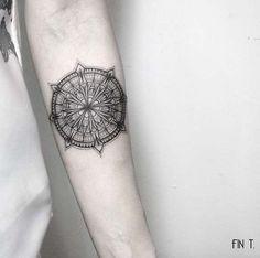 Symmetrical Forearm Tattoo