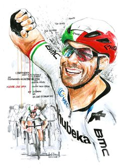 Cycling Art, Baseball Cards, Sports, Biking, Italia, Road Cycling, Hs Sports, Sport, Bike Art
