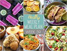 Make your life easier AND healthier! This healthy meal plan has a weeks worth of…