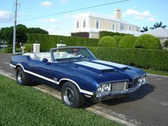 1970 Olds 442 | 1970 Oldsmobile 442, club442 1970 olds 442 w30 blue convertible ...