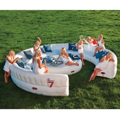 The Instant Summer Event Sofa - Hammacher Schlemmer