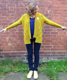 Knitter Sarah Moran just finished an Abram's Bridge by Mer Stevens for herself out of The Fibre Co. Cumbria in Buttermere, and the end result is stunning!