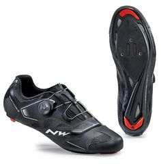 Northwave 2016 Sonic 2 Plus Road Cycling Shoes - (Black - Road Cycling Shoes, Cycling Gloves, Cycling Helmet, Cycling Gear, Cycling Equipment, Cycling Outfit, Black Shoes, All Black Sneakers, Cycling Magazine