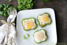 Shamrock Fried Eggs #justeatrealfood #zestuous