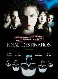 Final Destination - Review: Final Destination (2000) is a thriller horror movie that made me think about the inevitable. It… #Movies #Movie