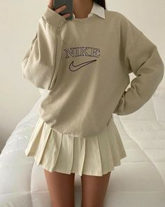 Adrette Outfits, Indie Outfits, Teen Fashion Outfits, Retro Outfits, Cute Casual Outfits, Look Fashion, Stylish Outfits, Vintage Outfits, Tennis Outfits