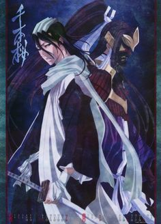 Byakuya Kuchiki - A marvellous character, his unpredictable traits make him intriguing, his brooding exterior hides a past of sorrow.