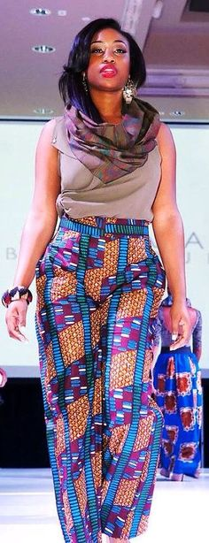 Love the pants ♥African Fashion❤️Mystyle ❤️