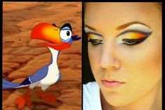 amazing makeup cosplay | lion king makeup makeup inspiration movie makeup beauty fashion