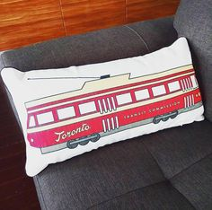 Details: by Includes Pillow insert Polyester Cotton Canvas Toronto Houses, Pillow Inserts, Cotton Canvas, Bed Pillows, Pillow Cases, Home, Pillows, House