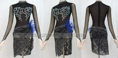 latin dancing clothes outlet,latin competition dance outfits for women:LD-SG912