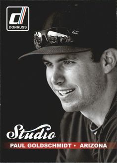 Paul Goldschmidt 2014 Donruss Studio 17