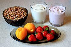 Fruit and Yogurt Parfaits recipe