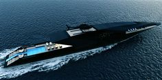 Black Swan Superyacht 70m by Timur Bozca _....I'll be waiting...on the sand...with a drink in my hand...daydreaming of what will be...