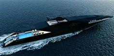Black Swan Superyacht 70m by Timur Bozca _