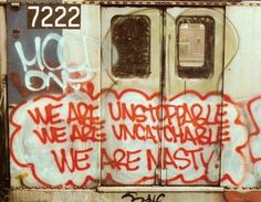 #NYCSubwayGraffiti  I think all artists felt this way...at one point or another:)