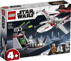 X-Wing StarfighterT Trench Run - Lego Star Wars 75235 Shop - Eurotoys.se Star Wars Droids, Lego Star Wars, How To Build Steps, Lego 4, Lego System, Theme Star Wars, X Wing, Odense, Lego Disney