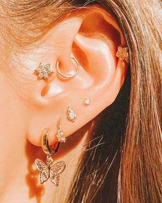 Jewelry Tattoo, Ear Jewelry, Cute Jewelry, Jewelry Accessories, Jewlery, Jewelry Shop, Bijoux Piercing Septum, Piercing Tattoo, Tongue Piercings