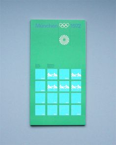 Munich Olympic Rowing Regulation Book, 1972
