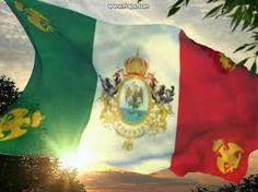Bandera del Segundo Imperio Mexicano (Maximiliano de Habsburgo)