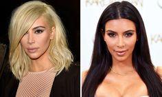 We ❤ Kim Kardashian's Radical Trendy Style Change #Hair #Colour #HairColouring #HairCut #Style #Cabello #Peluquería #Coloración #Estilo #Tendencia #Trend #Trendy