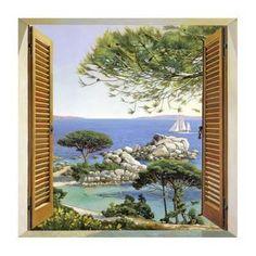 Finestra sul Mediterraneo Art by Andrea Del Missier at AllPosters.com