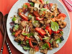 Artichoke and Tomato Panzanella Recipe | Giada De Laurentiis | Food Network