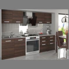 Kuchyňská linka TAMARA 160 kaštan Kitchen Cabinets, Modern, Home Decor, Countertop, Trendy Tree, Decoration Home, Room Decor, Cabinets, Home Interior Design