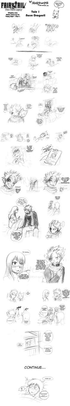 Natsu and Lucy - Care 01